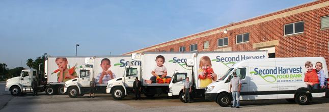 Second Harvest Food Bank Using Strategic Design to Help Eliminate